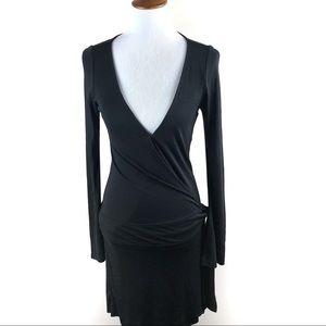 Diane Von Furstenberg Black Wrap Size 6 DVF